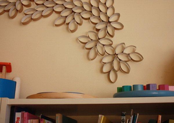 Панно на стену своими руками из бумаги фото