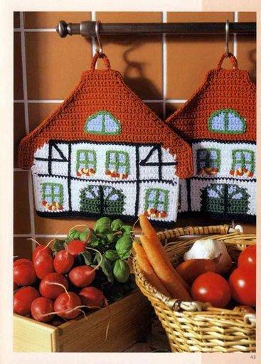Поделки для кухни схемы