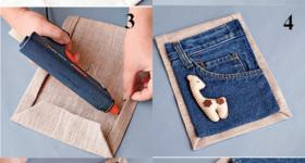 Что можно сделать из старых джинс
