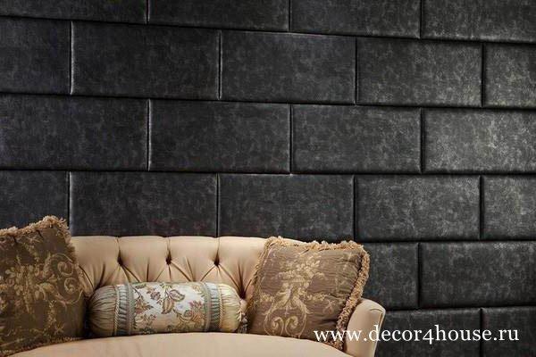 стеновые декоративные панели в гостиной