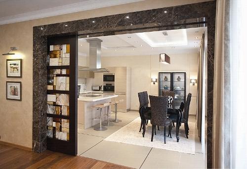 Красивые двери на кухню