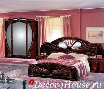 спальня в итальянском стиле