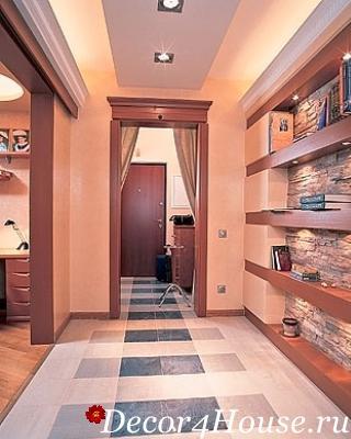 Дизайн коридора прихожей в квартире