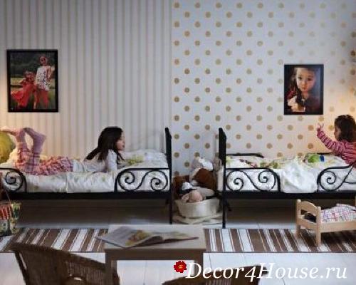 Детские кровати для разнополых детей 92