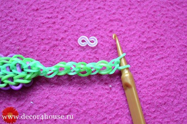 Уроки плетения резиночками на рогатки